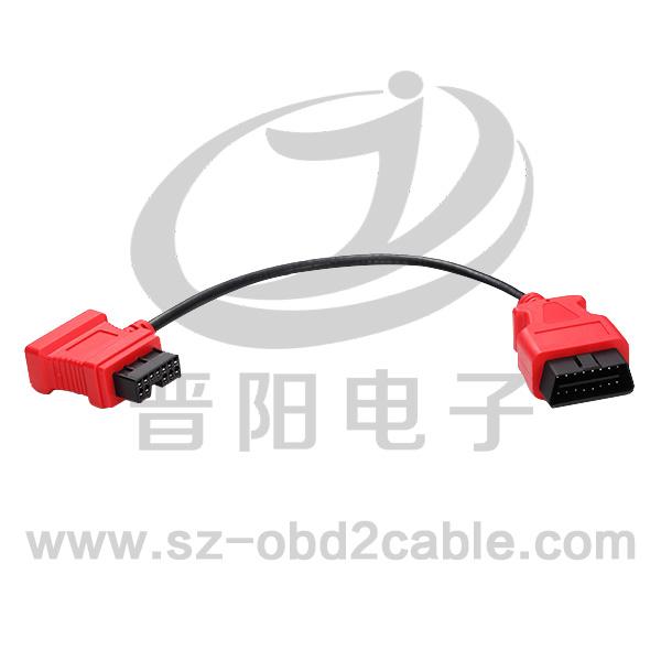 OBDM-三菱12PF+DB15F